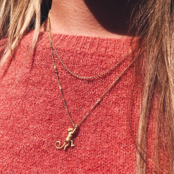 hanging around - classic ketting goud