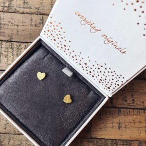 ray of light studs oorbel goud