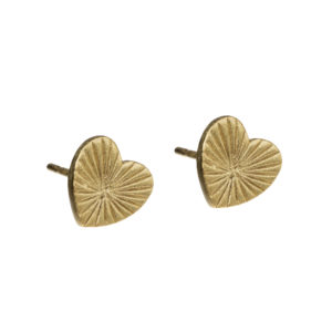 ray of light studs oorbellen goud