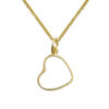 heart to get ketting goud hartje