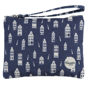 take me home true blue clutch