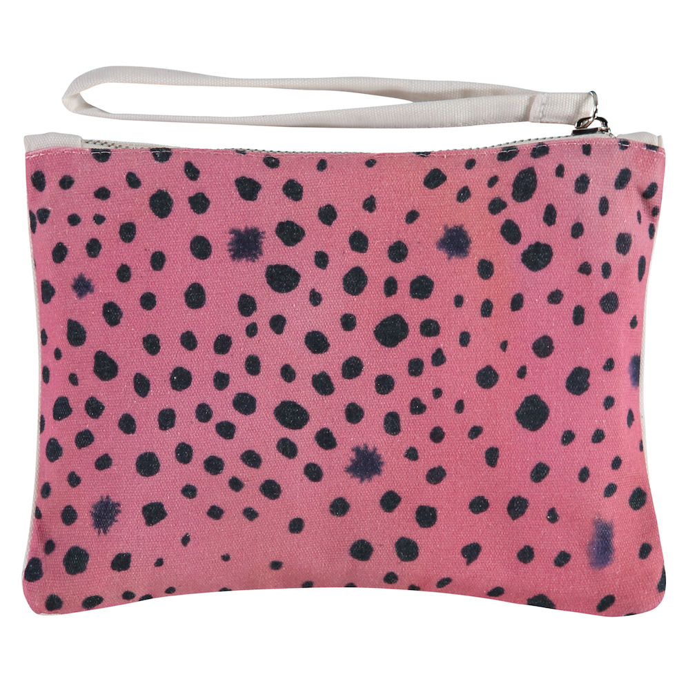 pink panther clutch achterkant