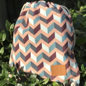 get lost vintage pink backpack