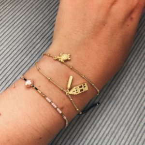 take it slow - only in amsterdam armband goud