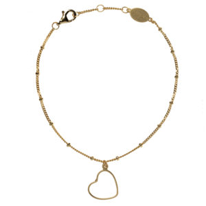 heart to get armband goud