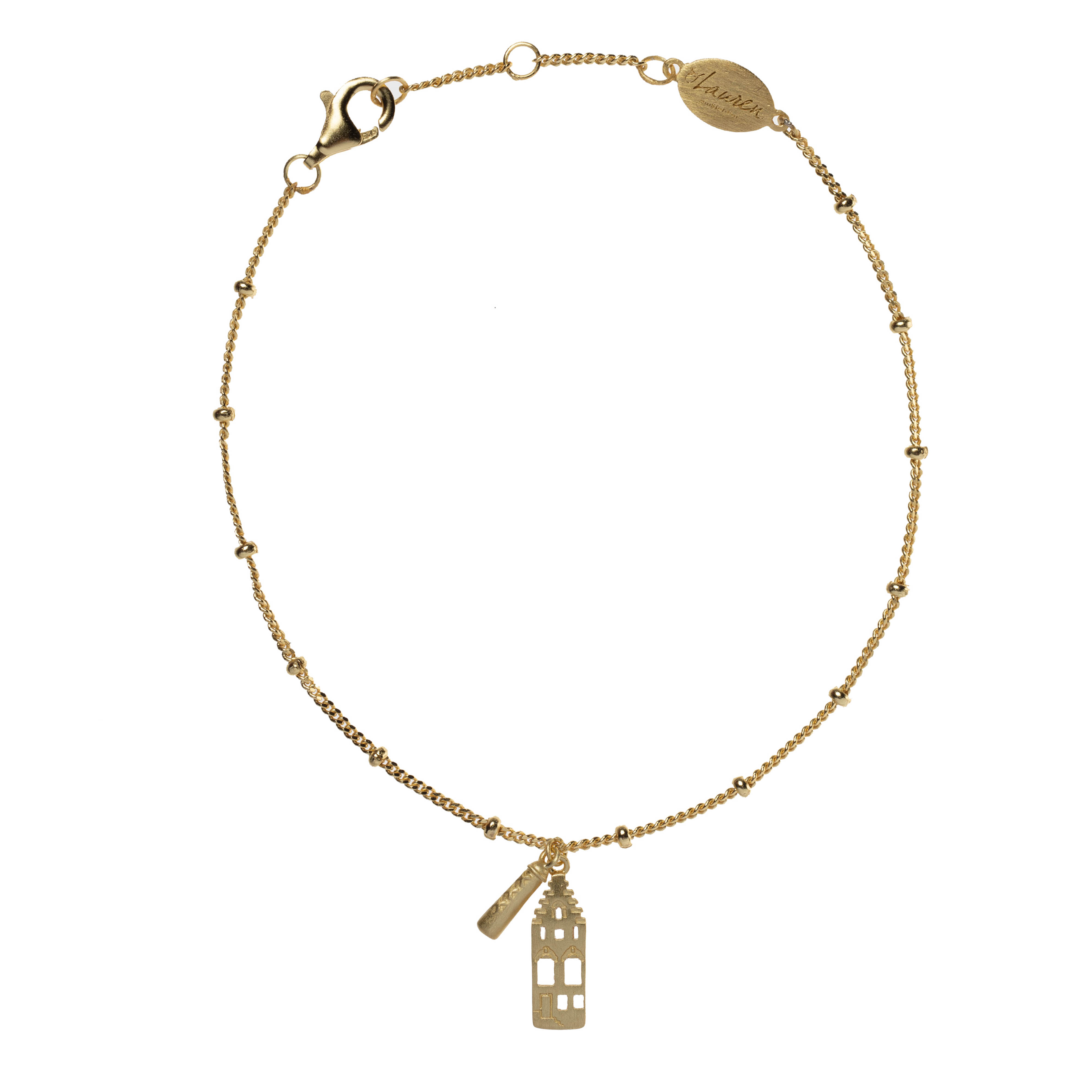 only in amsterdam armband goud