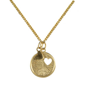 love to love ketting goud hartje