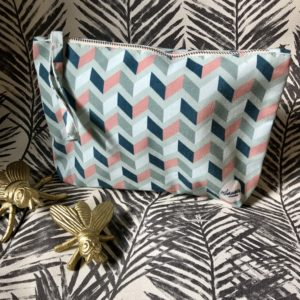 get lost minty green clutch medium