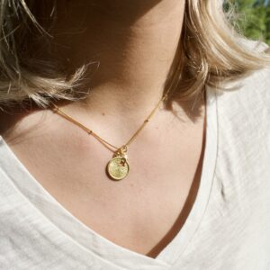 stargazing ketting goud satellite
