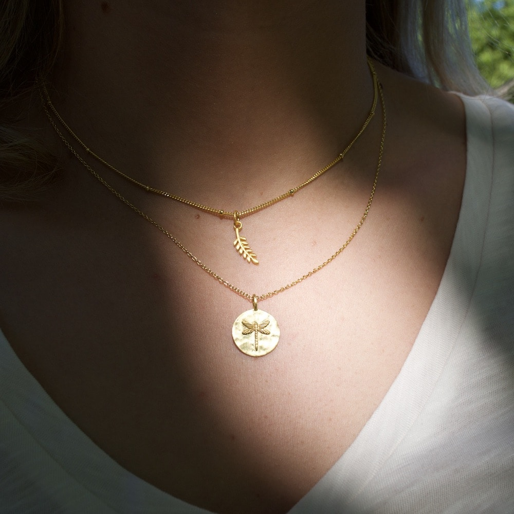 don't leave me satellite - flying gold classic ketting goud