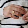 love me more - tied up ring goud