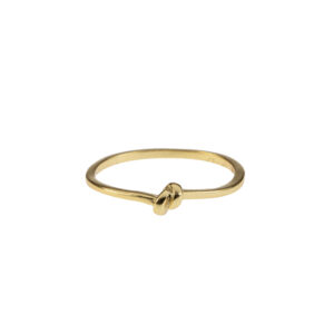 tied up ring goud